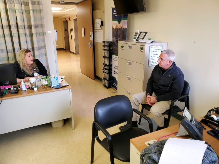 Sidney Addiction Assistance Team members discuss new service at Wilson Health